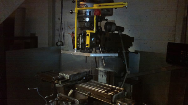 milling machine guarding