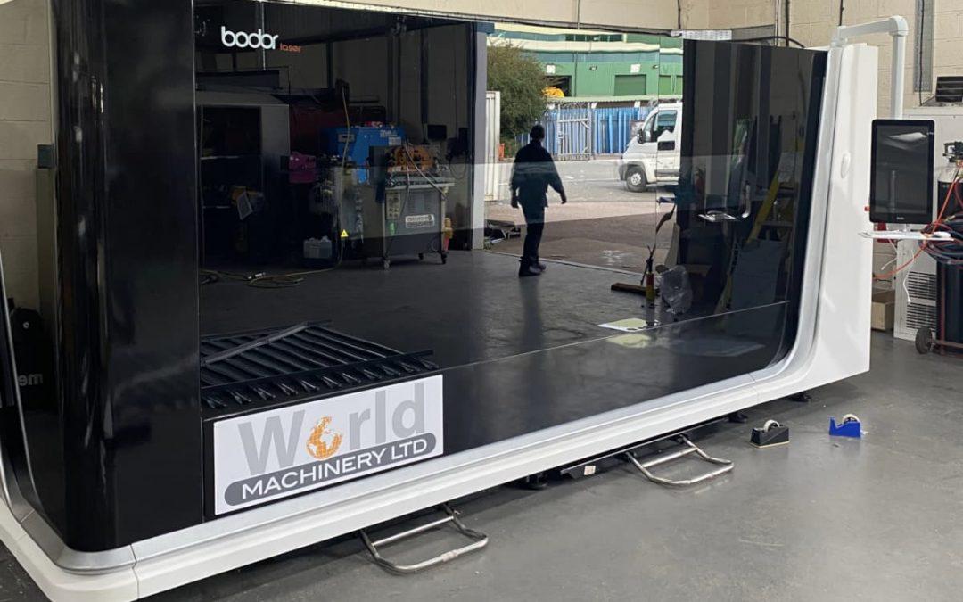 New Bodor i7 Fibre Laser machine